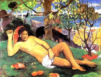 Paul Gauguin : The King Wife