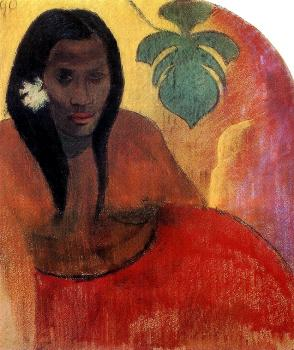 Paul Gauguin : Tahitian Woman