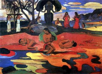 Paul Gauguin : Mahana No Atua Aka Day Of The Gods