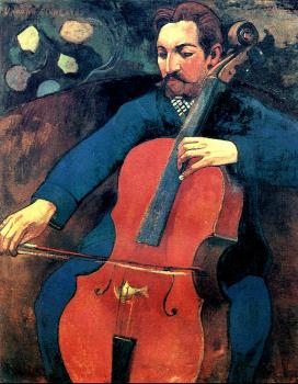Paul Gauguin : The Cellist