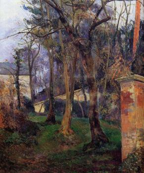 Paul Gauguin : Abandoned Garden, Rouen