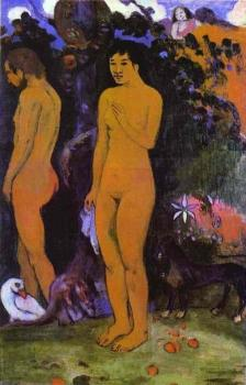 Paul Gauguin : Adam and Eve