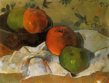 Paul Gauguin : Apples and Bowl