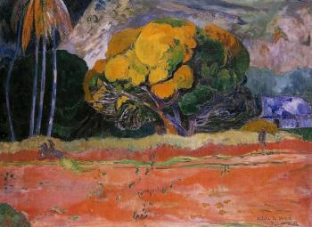 Paul Gauguin : At the Big Mountain