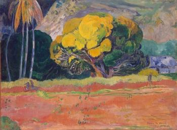 Paul Gauguin : At the Foot of the Mountain