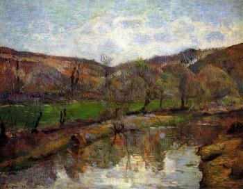 Paul Gauguin : Aven Valley, Upstream of Pont-Aven