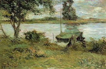Paul Gauguin : Banks of the Oise
