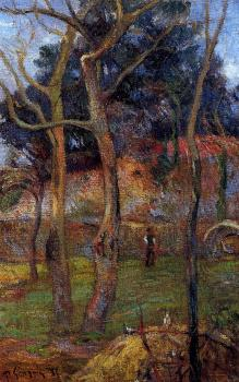 Paul Gauguin : Bare Trees