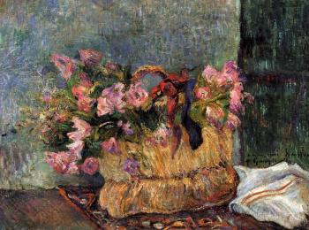 Paul Gauguin : Basket of Flowers