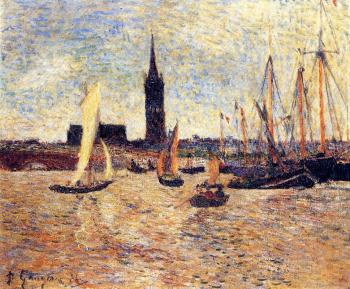 Paul Gauguin : Bordeaux Harbor
