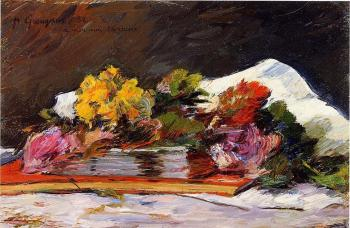 Paul Gauguin : Bouquet of Flowers
