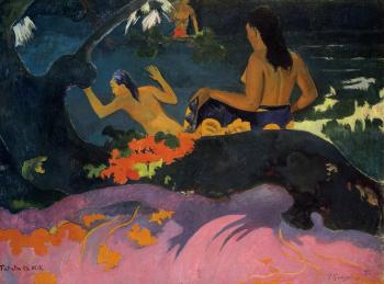 Paul Gauguin : By the Sea II