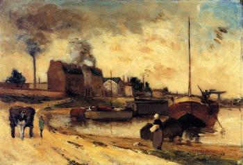 Paul Gauguin : Cail Factories and Quai de Grenelle