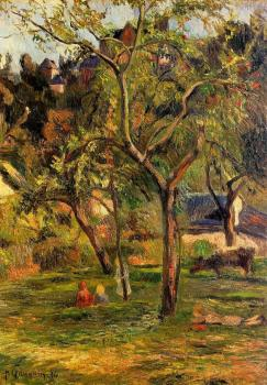 Paul Gauguin : Children in the Pasture