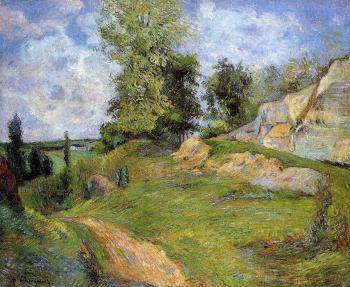 Paul Gauguin : Chou Quarries at Pontoise
