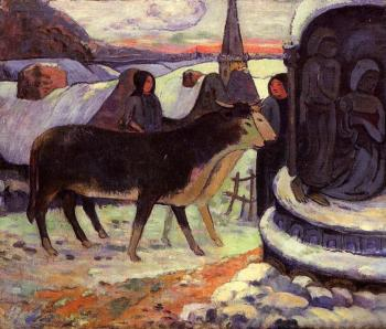 Paul Gauguin : Christmas Night