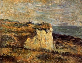 Paul Gauguin : Cliff near Dieppe