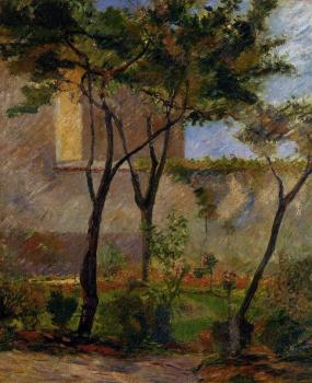 Paul Gauguin : Corner of the Garden, rue Carcel