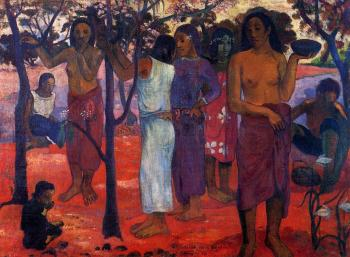 Paul Gauguin : Delightful Day