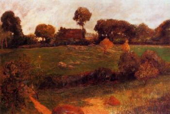 Paul Gauguin : Farm in Brittany