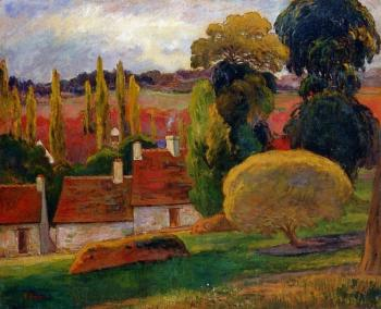 Paul Gauguin : Farm in Brittany II