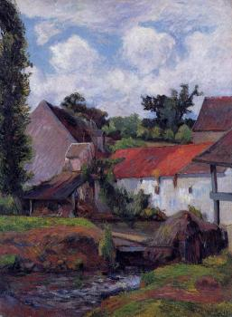 Paul Gauguin : Farm in Osny