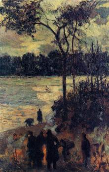 Paul Gauguin : Fire by the Water