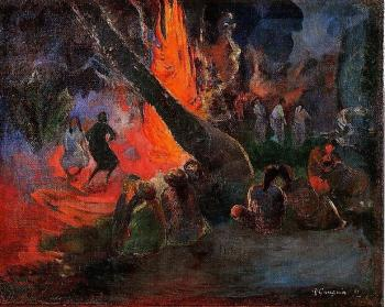 Paul Gauguin : Fire Dance