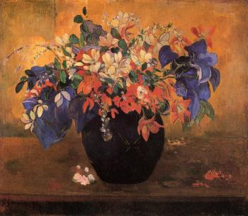 Paul Gauguin : Flower Piece