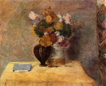 Paul Gauguin : Flowers and Japanese Book