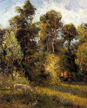 Paul Gauguin : Forest Edge