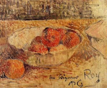 Paul Gauguin : Fruit in a Bowl