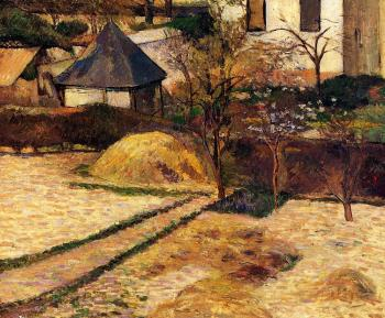 Paul Gauguin : Garden View, Rouen