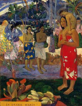 Paul Gauguin : Hail Mary