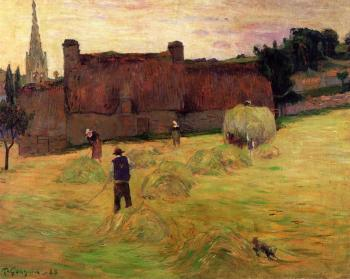 Paul Gauguin : Haymaking
