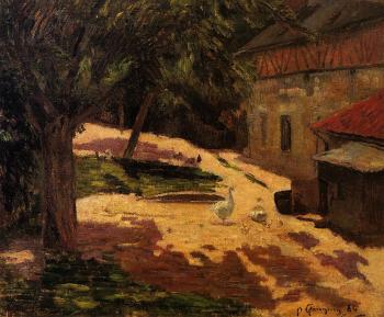Paul Gauguin : Henhouse