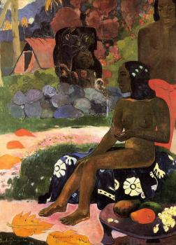 Paul Gauguin : Her Name is Viaraumati