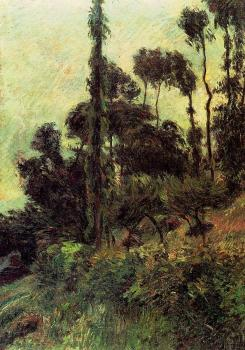 Paul Gauguin : Hillside
