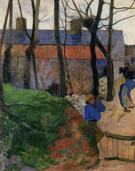 Paul Gauguin : Houses in le Pouldu