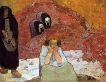 Paul Gauguin : Human Misery