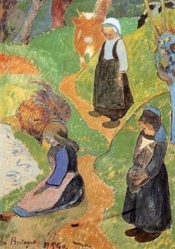Paul Gauguin : In Brittany