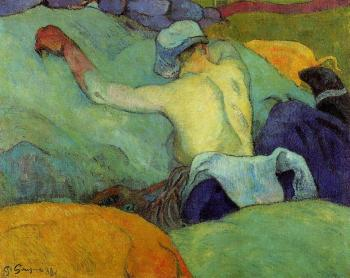 Paul Gauguin : In the Heat of the Day