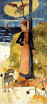 Paul Gauguin : Joan of Arc