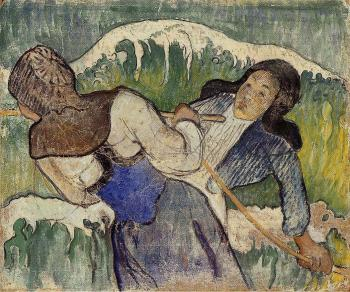 Paul Gauguin : Kelp Gatherers