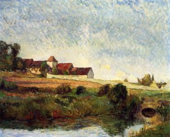 Paul Gauguin : La Groue Farm, Osny