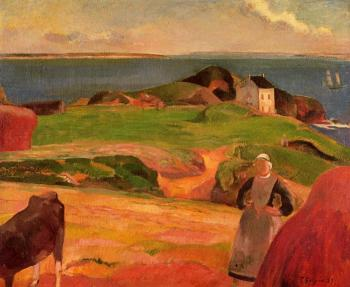Paul Gauguin : Landscape at le Pouldu
