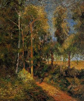 Paul Gauguin : Lane through the Beaches
