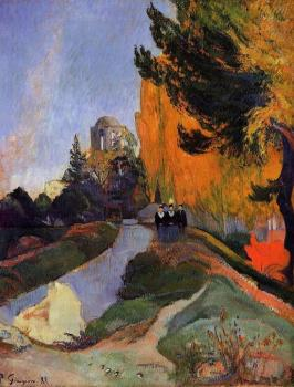Paul Gauguin : Les Alychamps