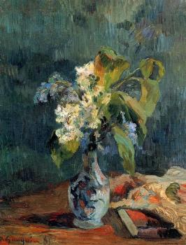 Paul Gauguin : Lilac Bouquet