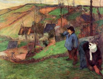 Paul Gauguin : Little Breton Shepherd